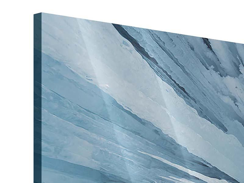 Panoramic 3 Piece Acrylic Print Ice Art