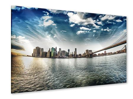 Acrylic Print Brooklyn Bridge From The Other Side