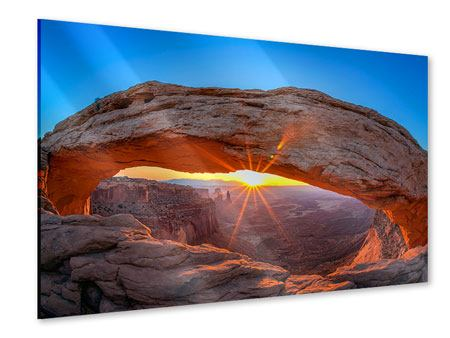 Acrylic Print Sunset At Mesa Arch