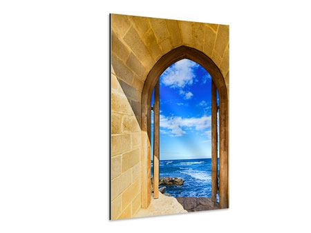 Aluminium Print The Gate To The Sea