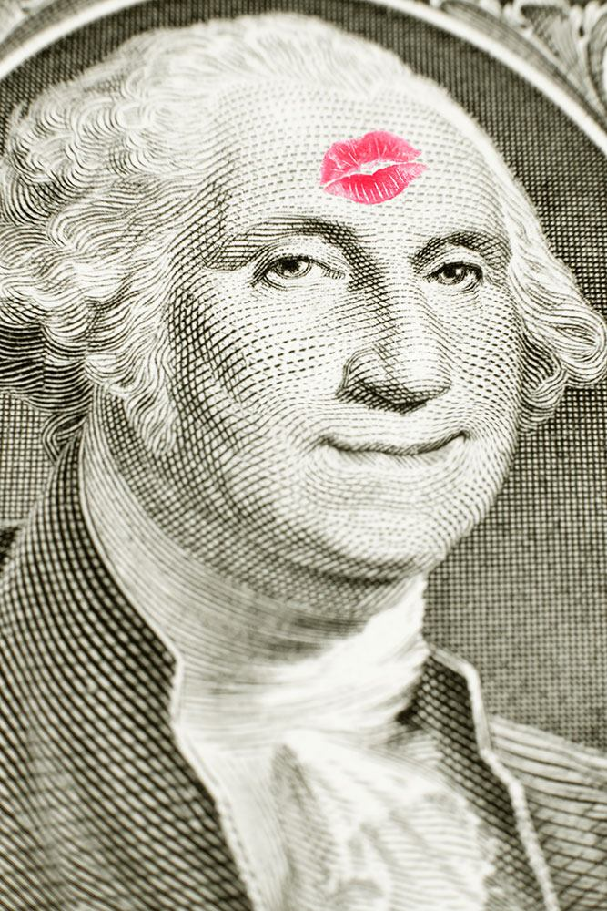 Impression pour Carrelage Billet de banque George Washington