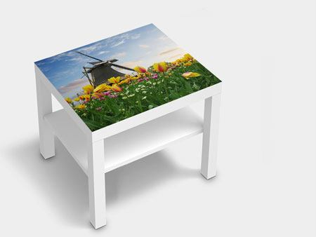 Furniture Foil The Windmill With Tulips