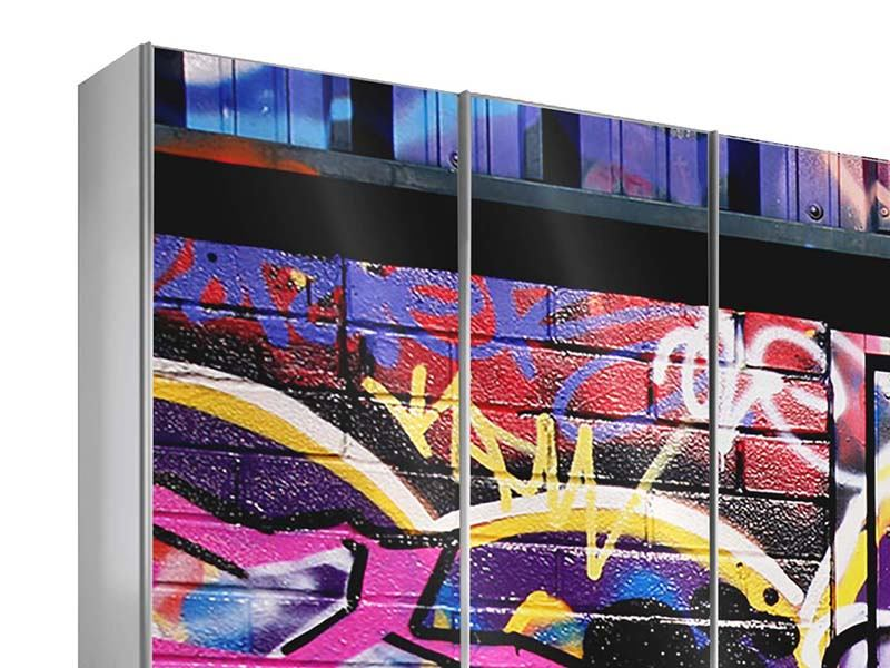 Furniture Foil Graffiti Wall Art