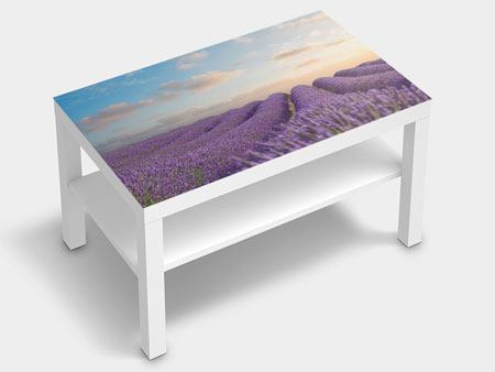 Furniture Foil The Blooming Lavender Field