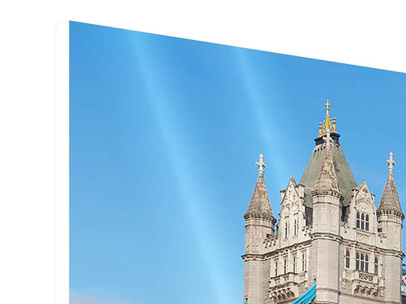Panoramic Forex Print Tower Bridge