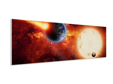 Panoramic Forex Print The Cosmos