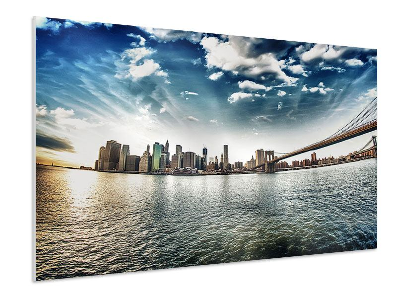 Forex Print Brooklyn Bridge From The Other Side