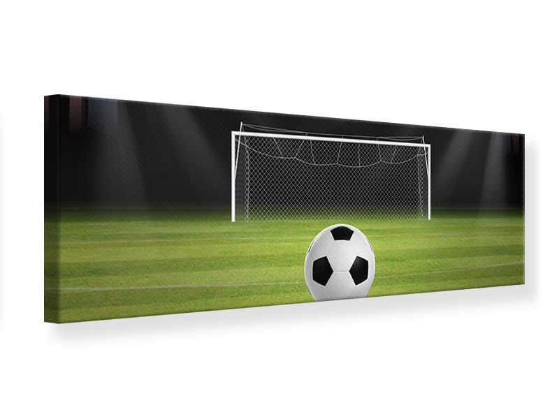 Panoramic Canvas Print Soccer-Goal