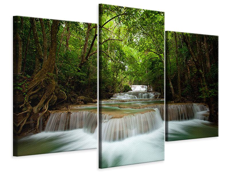Modern 3 Piece Canvas Print The 7 Steps
