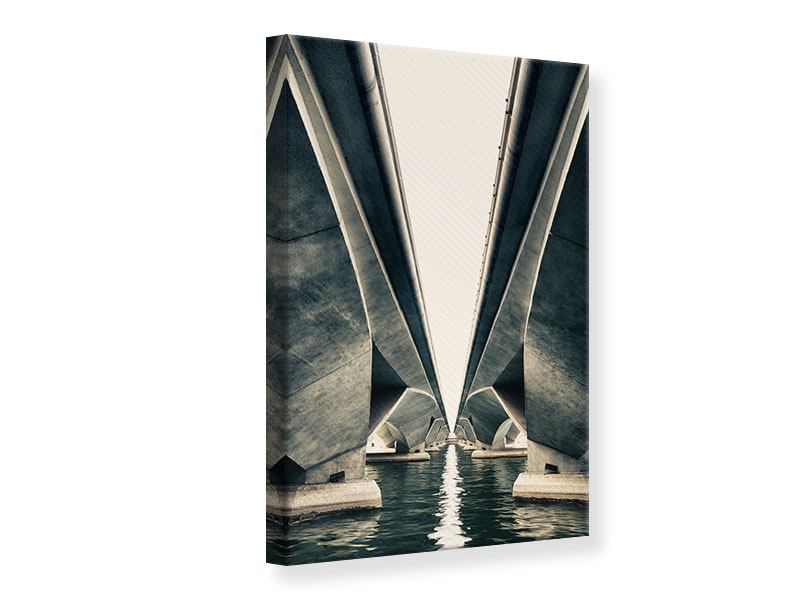 Canvas Print Bridge Art