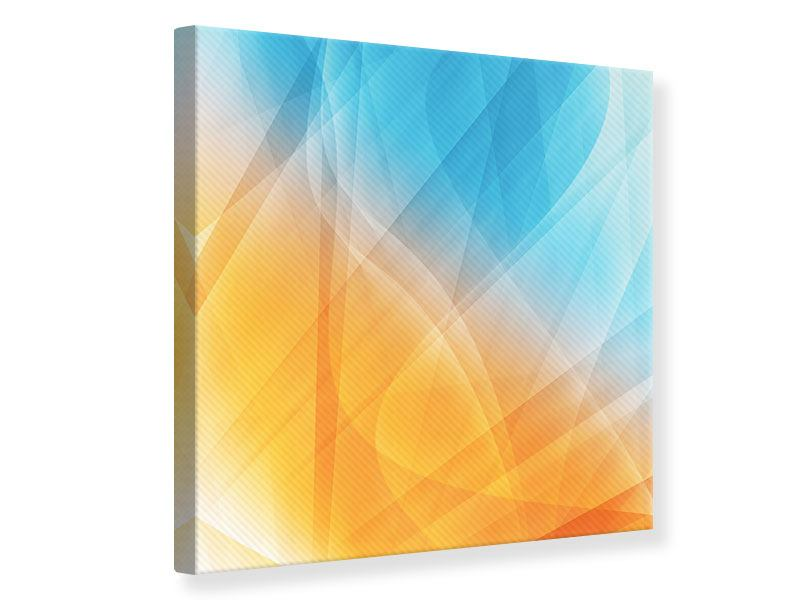 Canvas Print Abstract Flowing Colors