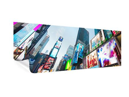 Panoramic Poster Shopping In NYC