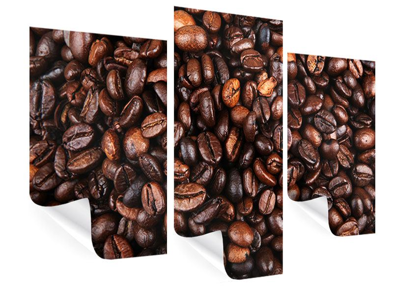 Modern 3 Piece Poster Coffee Beans In XXL