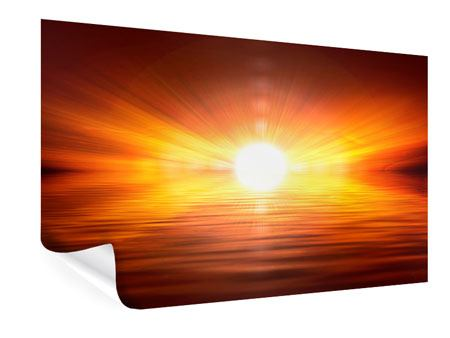 Poster Glowing Sunset