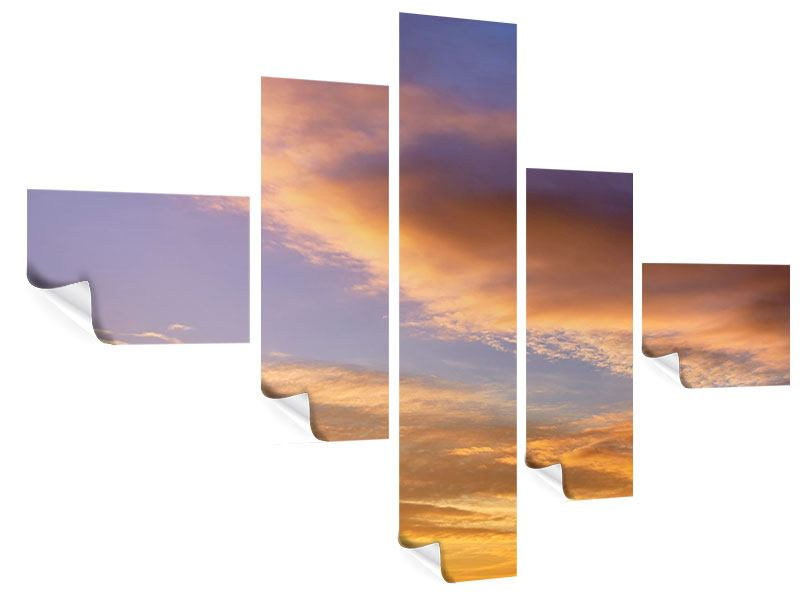 Modern 5 Piece Poster Heavenly