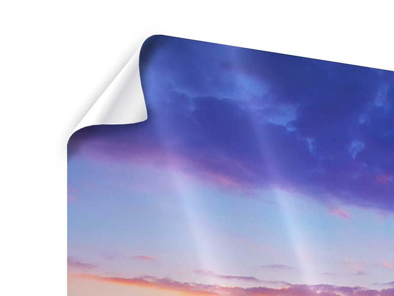 9 Piece Poster Vibrant Sunset