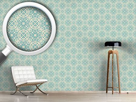 Design Wallpaper Floral Vintage