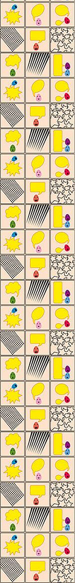 Papel tapiz de diseño Talking Eggs