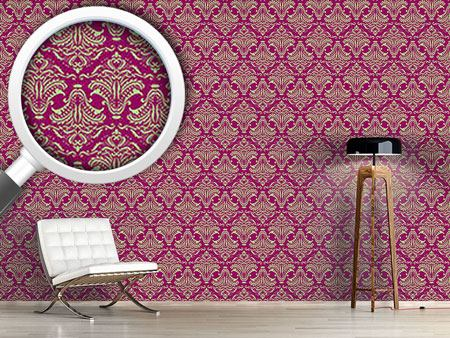 Design Wallpaper Purple Opulence