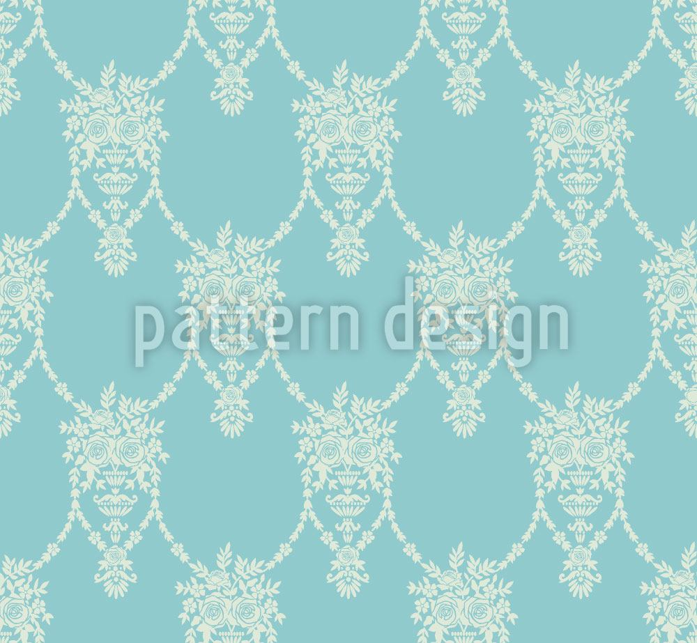 Design Wallpaper Amphora Mio Turquoise