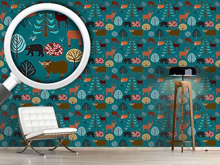 Design Wallpaper Into The Forest