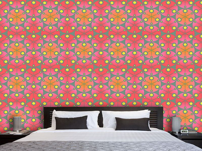 Design Wallpaper Red Dots