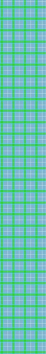 Papier peint design Blue Plaid
