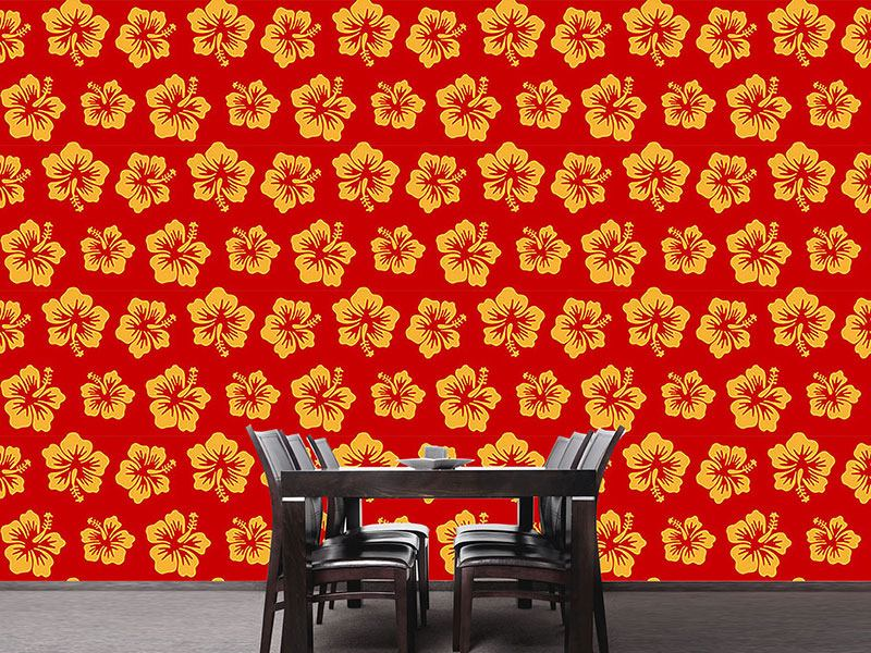 Design Wallpaper Hibiscus Greetings From Hawaii