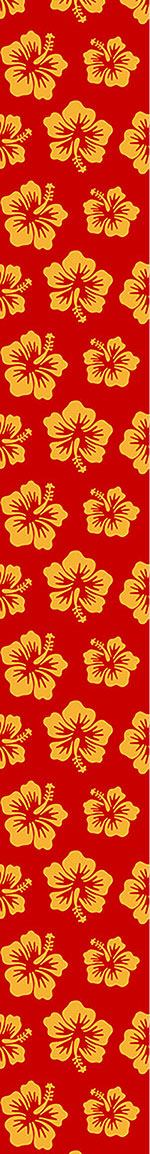 Papier peint design Hibiscus Greetings From Hawaii