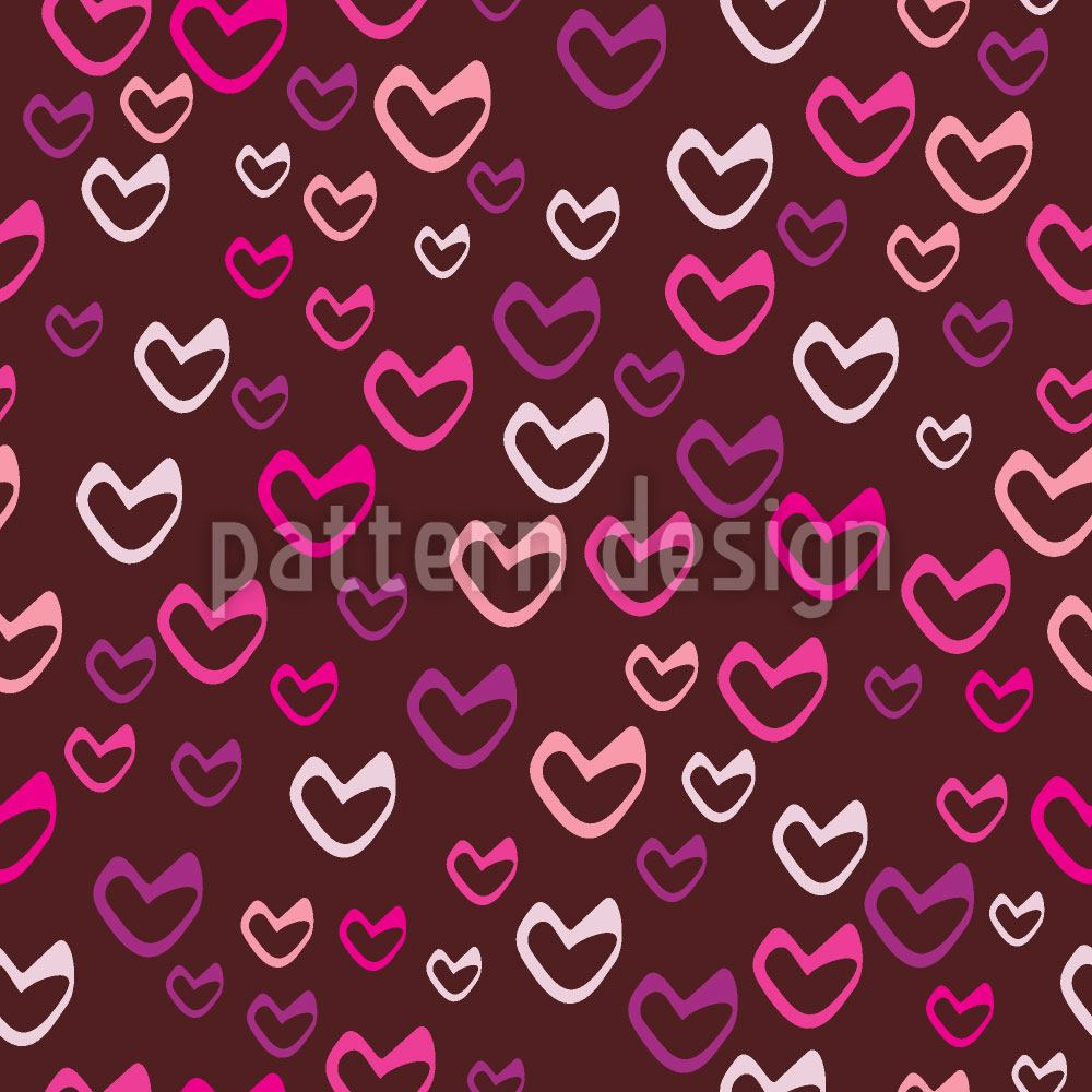 Design Wallpaper Sweet Hearts