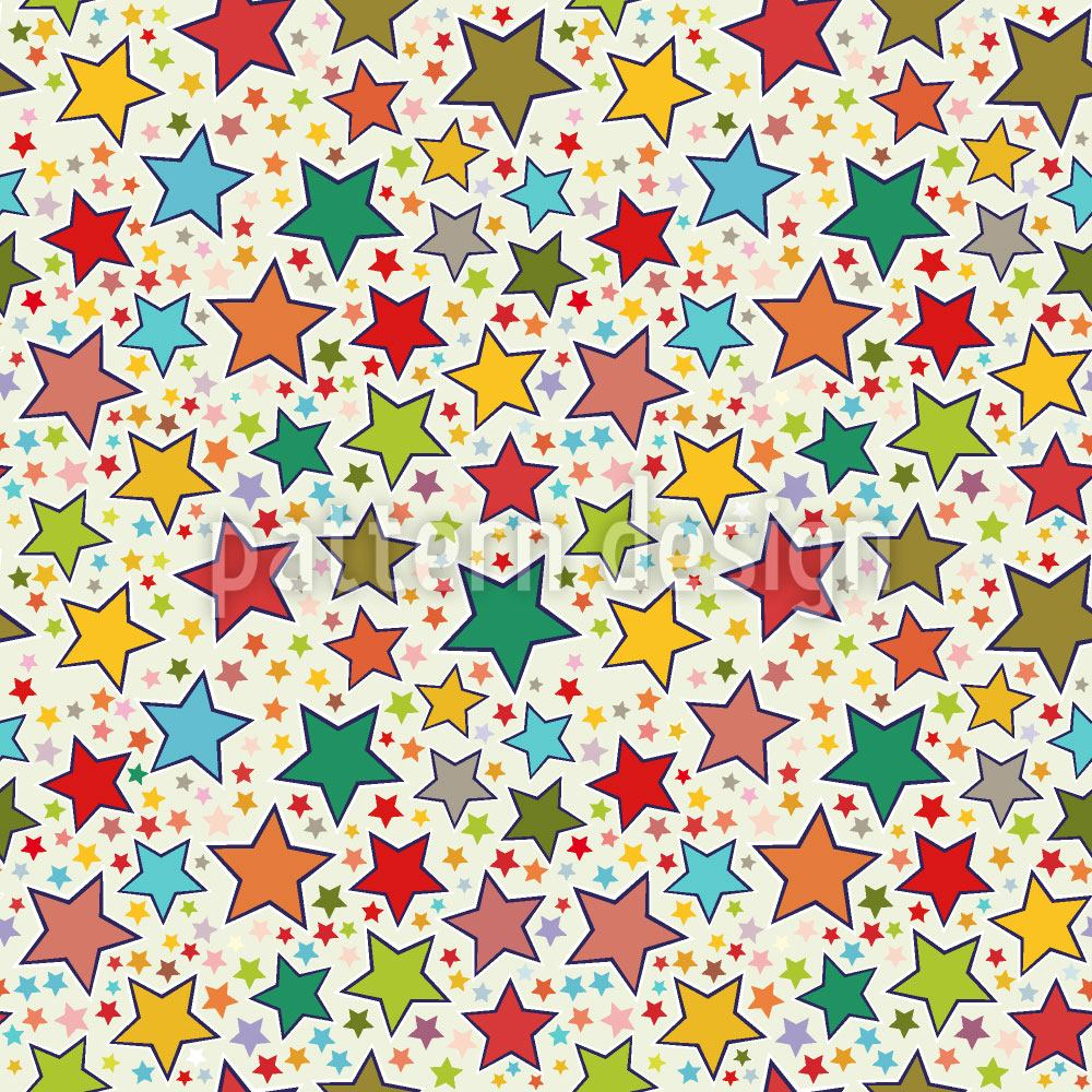 Carta da parati It Is Raining Stars
