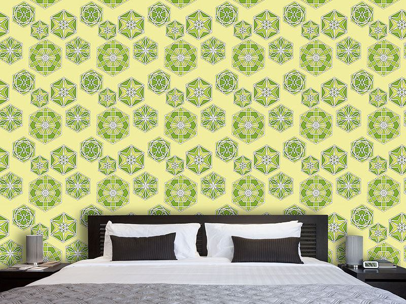 Design Wallpaper Green Morocco