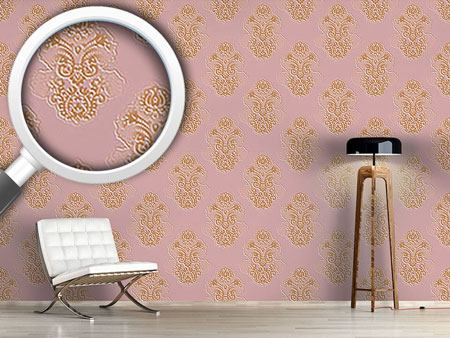 Design Wallpaper Silhouette Baroque