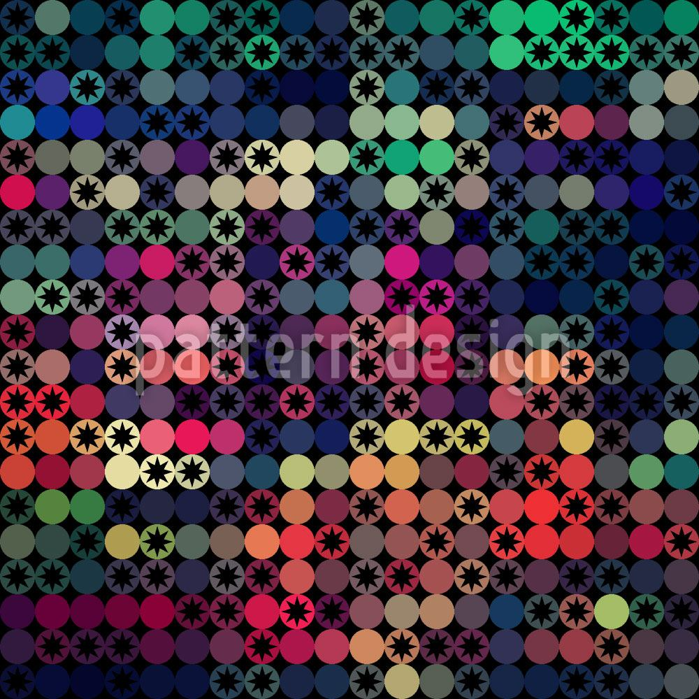 Design Wallpaper Stars On The Dot Scale