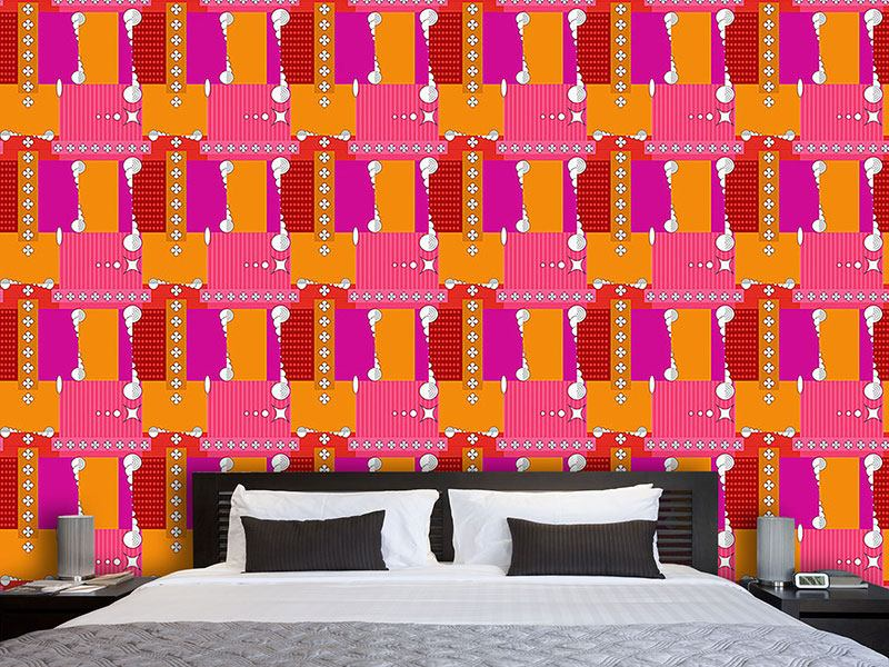 Design Wallpaper Abstract Patchwork