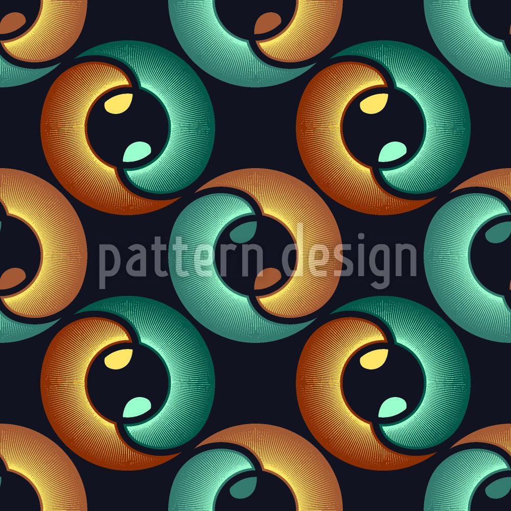 Papier peint design In The Eye Of Yin And Yang