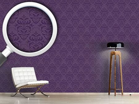 Design Wallpaper Lilac Baroque