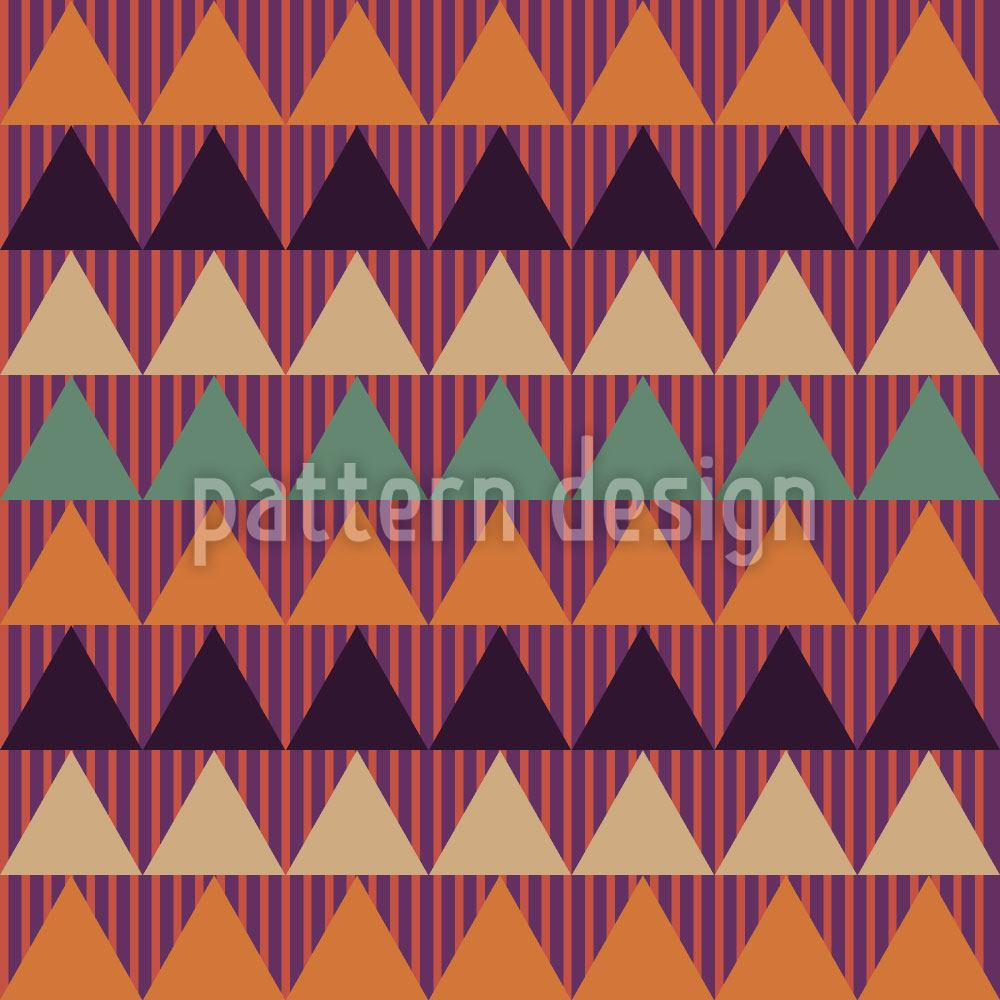 Papier peint design Triangle And Stripe