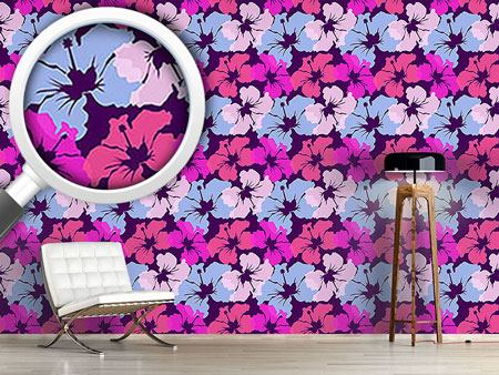 Design Wallpaper Hibiscus Awakening