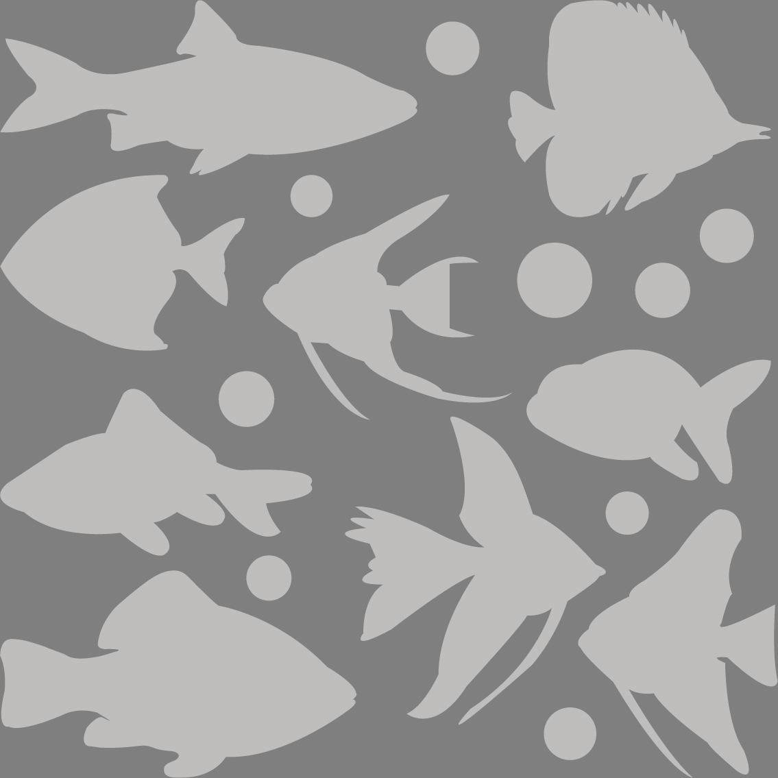 Window Foil 9 fish