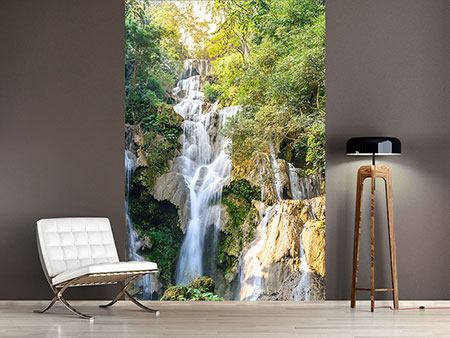 Photo Wallpaper Intoxicated Waterfall